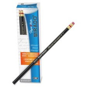 Paper Mate Mirado Classic Black Pencils with Eraser