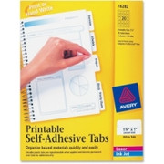 Avery Printable Self-Adhesive Tab - 2