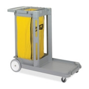 Genuine Joe Compact Cleaning Cart