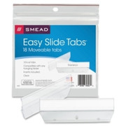 Smead 64626 Clear Easy Slide Tab