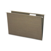 Smead Standard Green 100% Recycled Hanging File Folders with Tab - 1
