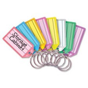 MMF Multi-Colored Replacement Key Tag