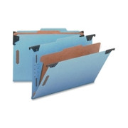 Smead 65155 Blue Hanging Pressboard Classification File Folders