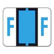 Smead 67076 Blue BCCR Bar-Style Color-Coded Alphabetic Label - F