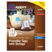 Avery Inkjet Printable Tags with Strings