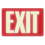 U.S. Stamp & Sign Glow in the Dark EXIT Sign