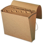 Smead 70186 Kraft Expanding Files with Flap and Elastic Cord