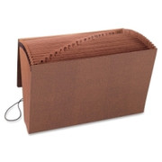 Smead 70320 Leather-Like TUFF Expanding Files with Flap and Elastic Cord