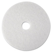 3M White Polish Floor Pad 4100