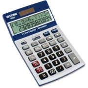 Victor 9800 Easy Check Two-Line Calculator