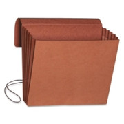 Smead 71109 Redrope Expanding Wallets with Elastic Cord
