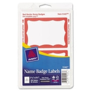 Avery Name Badge Label - 1