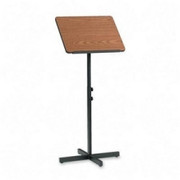 Safco Adjustable Speaker Podiums - 1