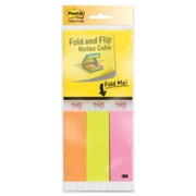 Post-it Fold & Flip Note Pads/Page Marker Cube