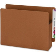 Smead 73610 Redrope 100% Recycled End Tab Extra Wide Pocket