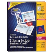 Avery Clean Edge Business Card - 2