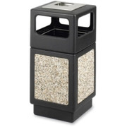 Safco Ash Urn Side Open Receptacle - 2