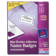 Avery Name Badge Label - 4