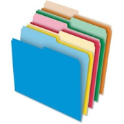 Pendaflex 1/2-cut Tab Reversible File Folders