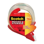Scotch Moving and Storage Packaging Tape with Dispenser