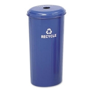 Safco Recycling Receptacle with Lid