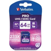Verbatim 97466 64 GB Secure Digital Extended Capacity (SDXC)