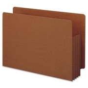 Smead 74780 Redrope Extra Wide End Tab TUFF Pocket File Pockets with Reinforced Tab