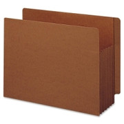 Smead 74790 Redrope Extra Wide End Tab TUFF Pocket File Pockets with Reinforced Tab