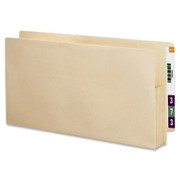 Smead 75124 Manila End Tab File Pockets with Reinforced Tab