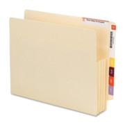Smead 75165 Manila End Tab File Pockets with Reinforced Tab