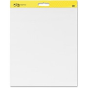 Post-it Self-Stick Plain White Paper Wall Pad