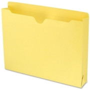 Smead 75571 Yellow Colored File Jackets