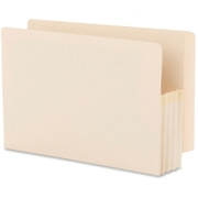 Smead 76124 Manila End Tab File Pockets with Reinforced Tab