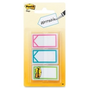 "Post-it Assorted Colors 1"" Writable Flags"