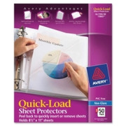Avery Quick Load Sheet Protector - 1