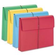 Smead 77251 Assortment Expanding Wallets with Elastic Cord
