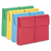 Smead 77271 Assortment Expanding Wallets with Elastic Cord
