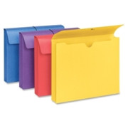 Smead 77291 Assortment Colored Expanding Wallets with Antimicrobial Product Protection