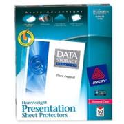 Avery Diamond Clear Top Loading Sheet Protector - 1