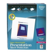 Avery Diamond Clear Top Loading Sheet Protector - 2