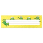 Carson-Dellosa Frogs Design Desk Name Plate