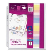 Avery Protect 'n Tab Top Loading Sheet Protector - 1