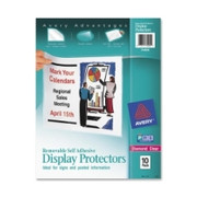 Avery Removable Self Adhesive Display Protector