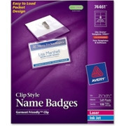 Avery Clip-style Name Badges