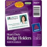 Avery Top Loading Horizontal Badge Holder