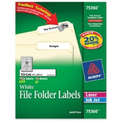 Avery TrueBlock File Folder Label
