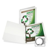 Samsill Recycled Insertable Vue Binder