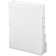 Smead 89415 White Three-Ring Binder Index Dividers
