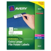 Avery Extra-Large TrueBlock Filing Labels