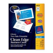 Avery Clean Edge Business Card - 5